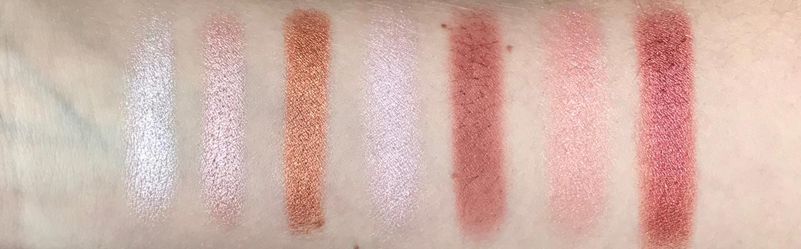 I-heart-makeup-Revolution-surprise-egg-rose-gold-swatch