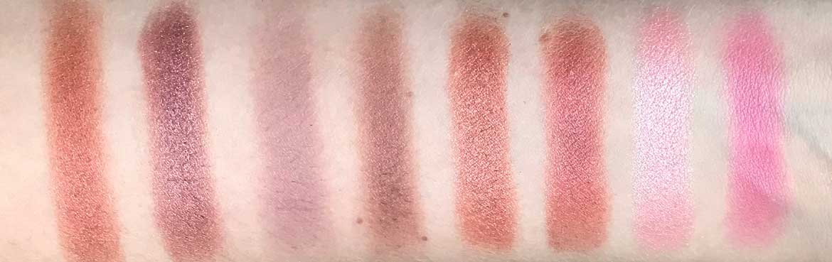 Max-&-More-24-eyeshadows-palette-03-rose-action-row-2-swatches
