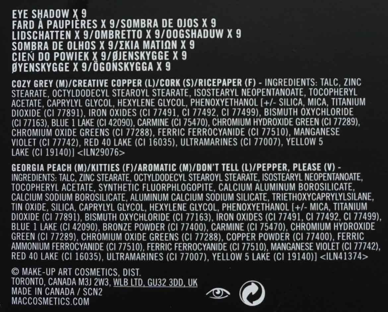 MAC-eye-shadow-X9-Amber-Times-Nine-ingredients