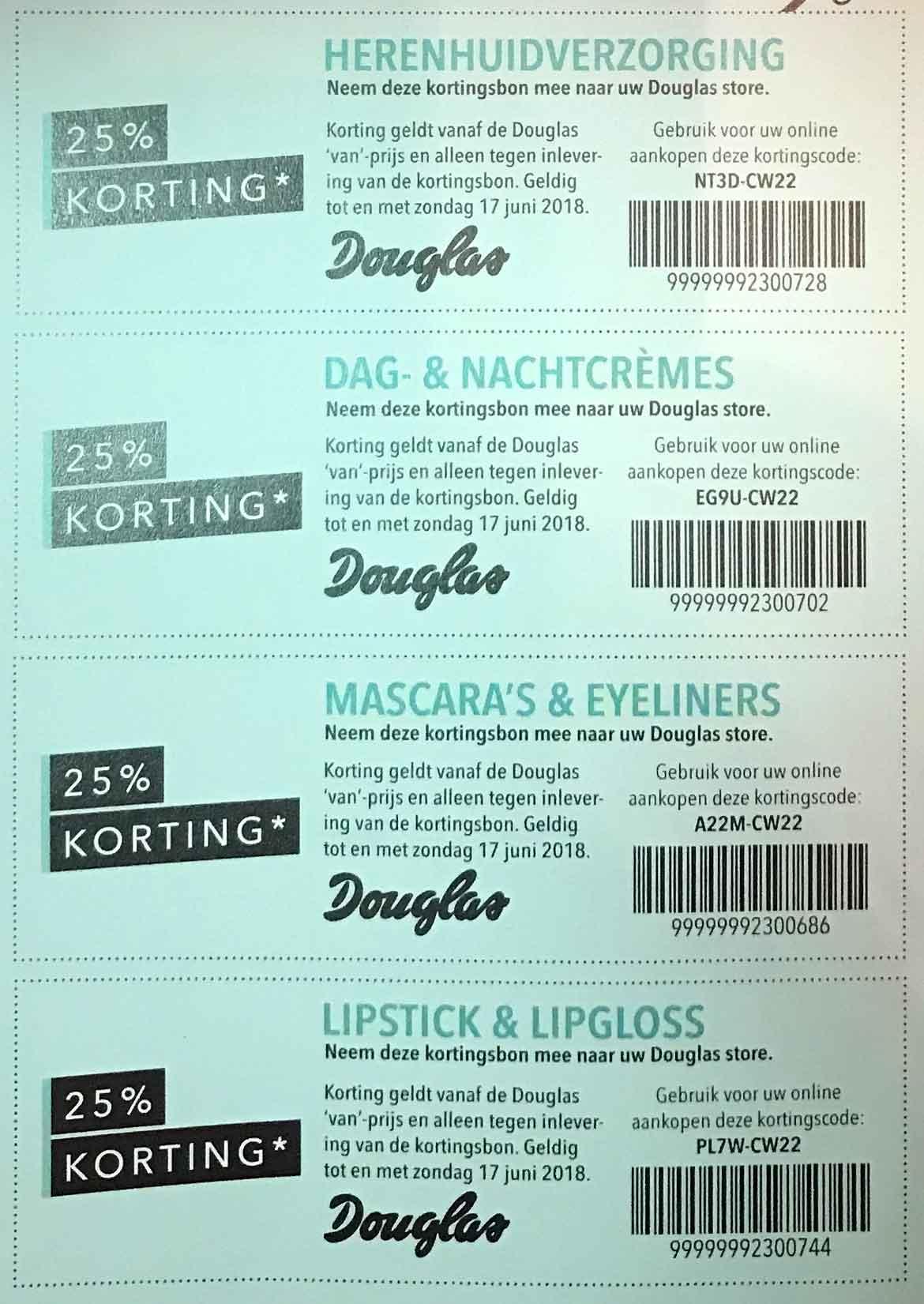 douglas-kortingsbon-kortingscode