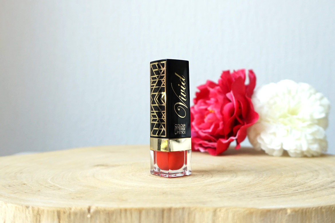 MUA-makeup-academy-LUXE-colour-intense-lipstick-Vivid-hot-chili-review-1