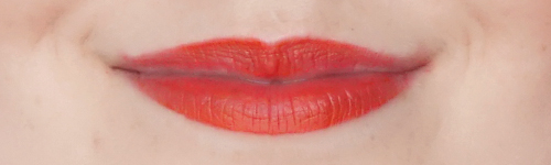 MUA-makeup-academy-LUXE-colour-intense-lipstick-Vivid-hot-chili-review-swatch-3
