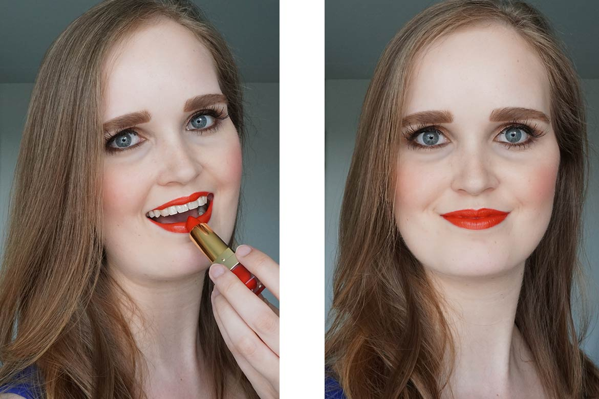 MUA-makeup-academy-LUXE-colour-intense-lipstick-Vivid-hot-chili-review