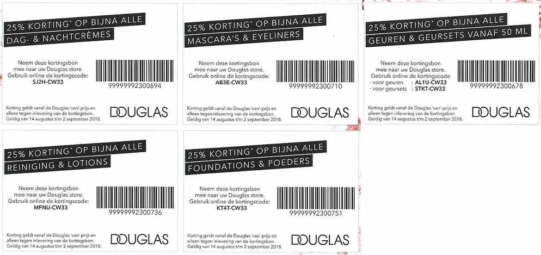 Douglas-kortingscode-kortingsbon-week-34-35