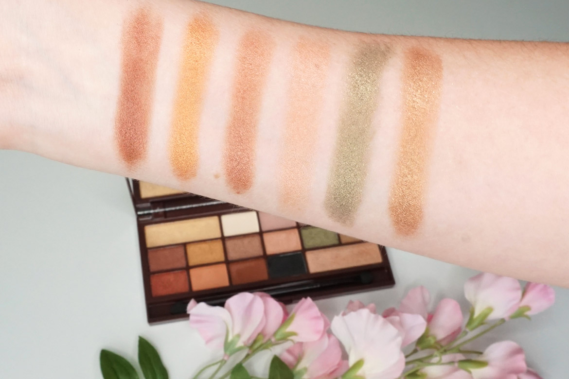 I-heart-makeup-Revolution-24k-Gold-palette-review-swatches-1