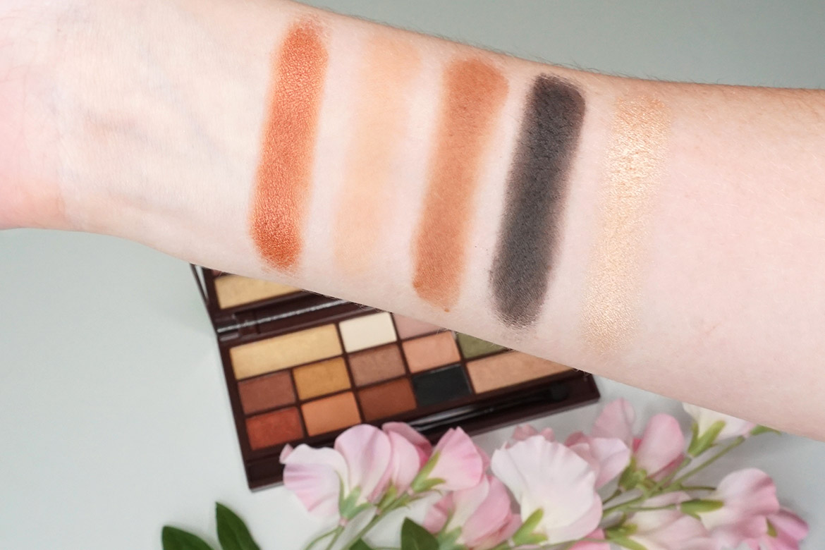 I-heart-makeup-Revolution-24k-Gold-palette-review-swatches-2