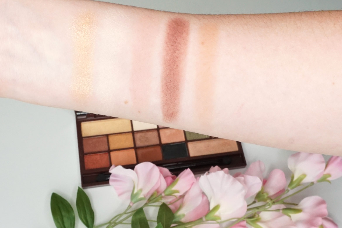 I-heart-makeup-Revolution-24k-Gold-palette-review-swatches