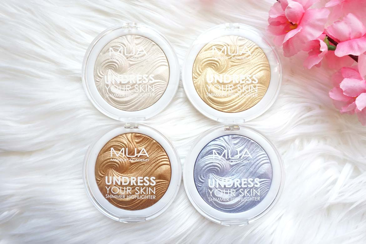 MUA-makeup-academy-undress-your-skin-shimmer-highlighter-peach-diamond-golden-scintillation-golden-afterglow-ice-sparkle