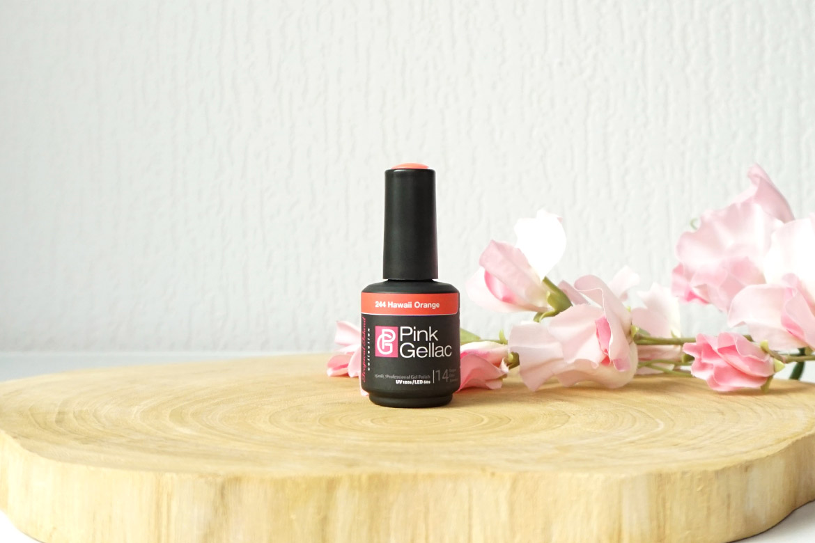 Pink-Gellac-244-Hawaii-Orange-review