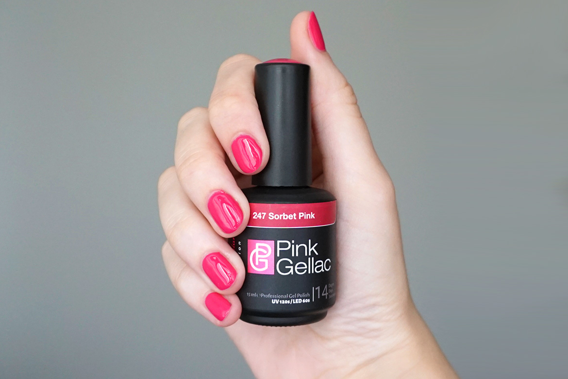 Pink-Gellac-247-Sorbet-Pink-review-look