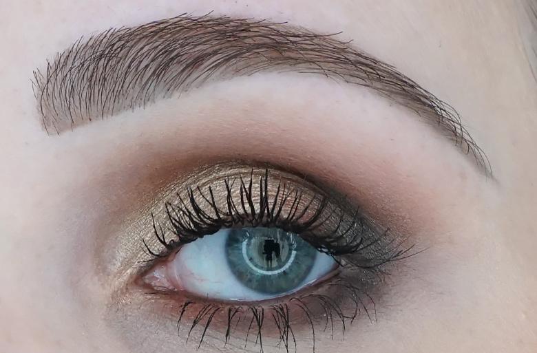 I-heart-makeup-Revolution-24k-Gold-palette-review-look-3