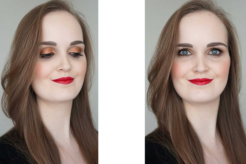 I-heart-makeup-Revolution-24k-Gold-palette-review-look-4
