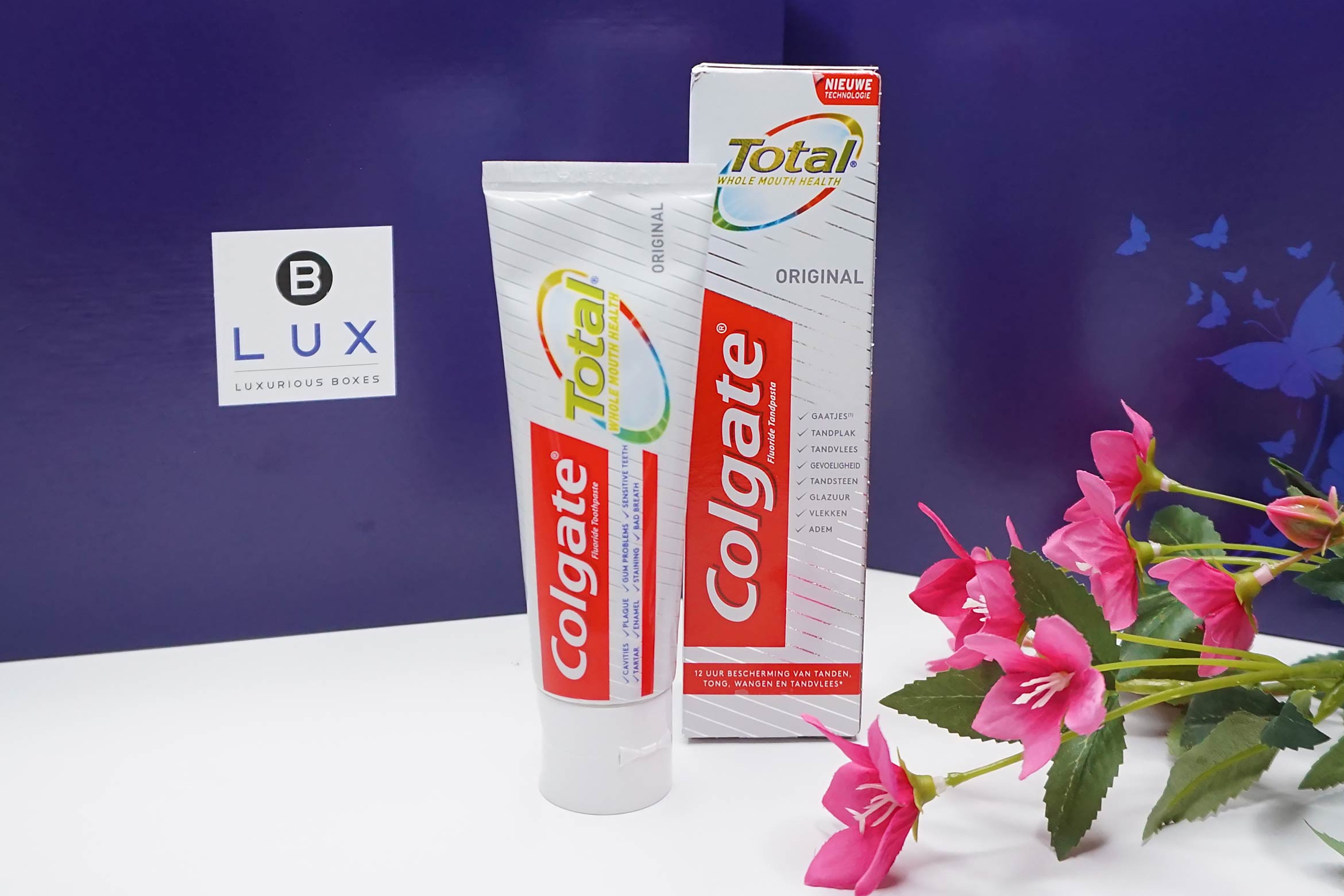 BLUX-box-maart-april-2019-review-colgate-total-tandpasta