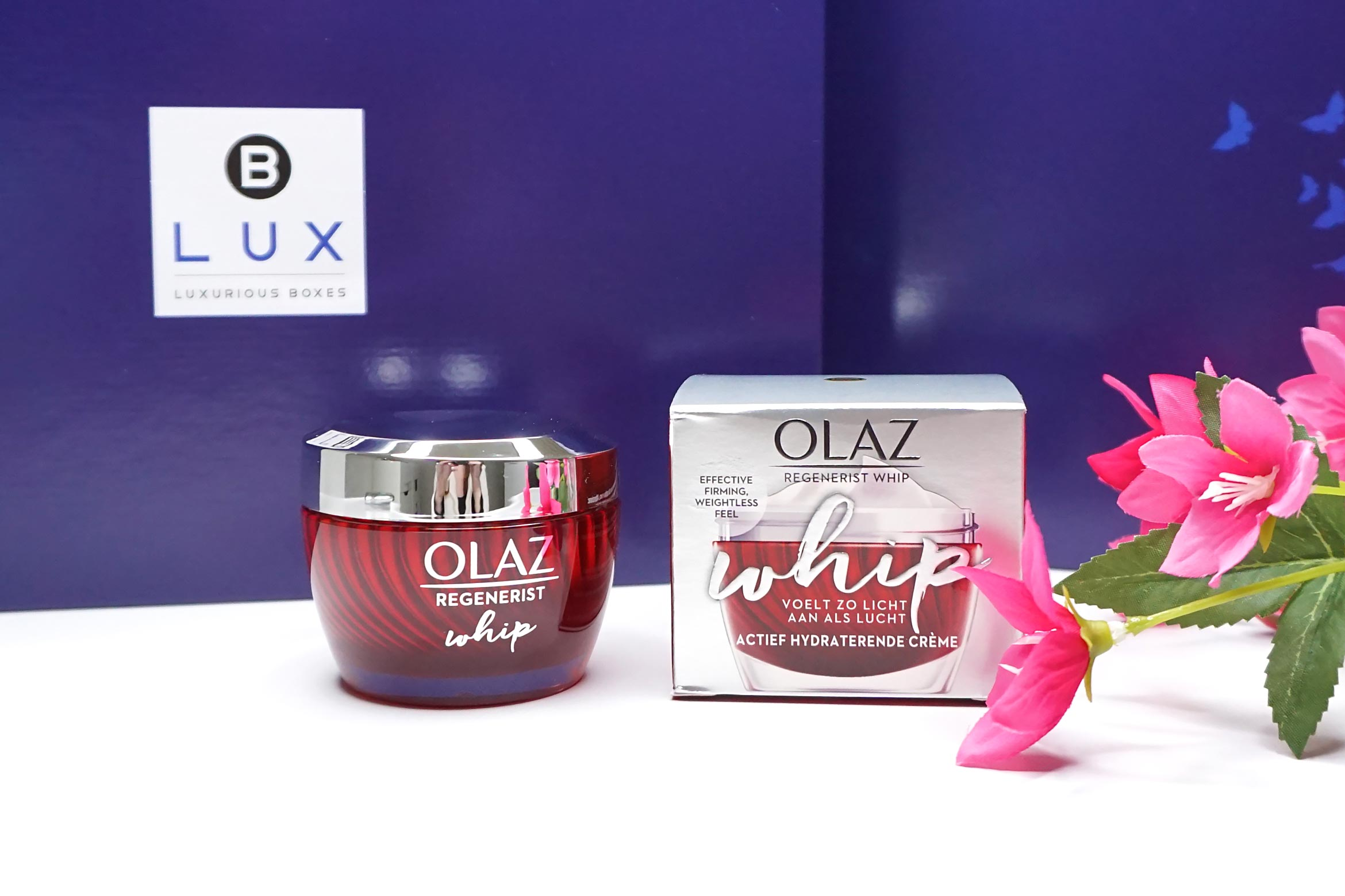 BLUX-box-maart-april-2019-review-olaz-regenerist-whip-creme-1