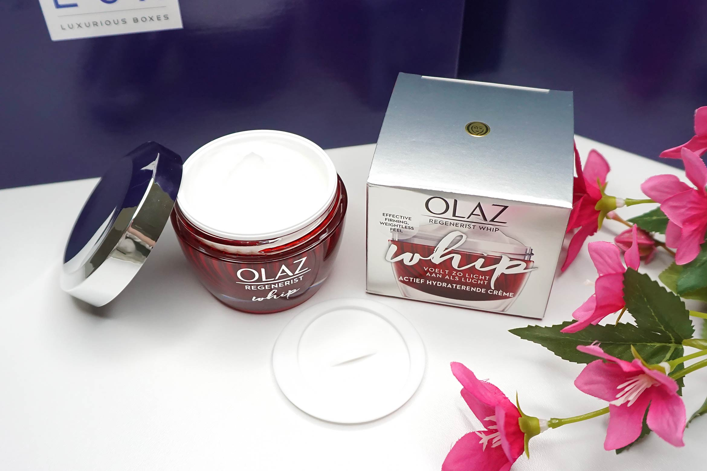 BLUX-box-maart-april-2019-review-olaz-regenerist-whip-creme
