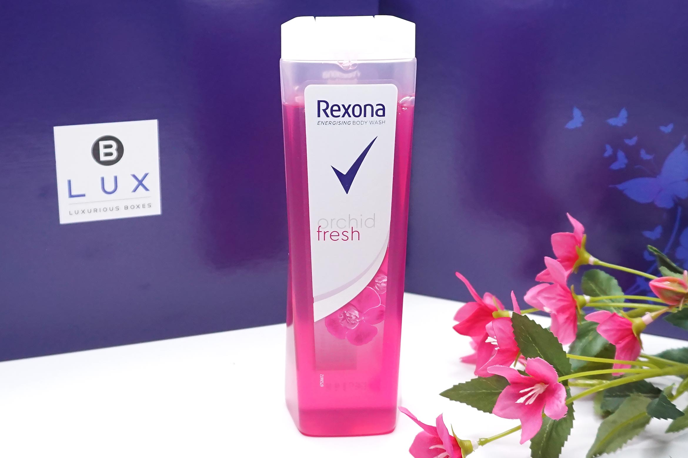 BLUX-box-maart-april-2019-review-rexona-orchid-fresh-douchegel