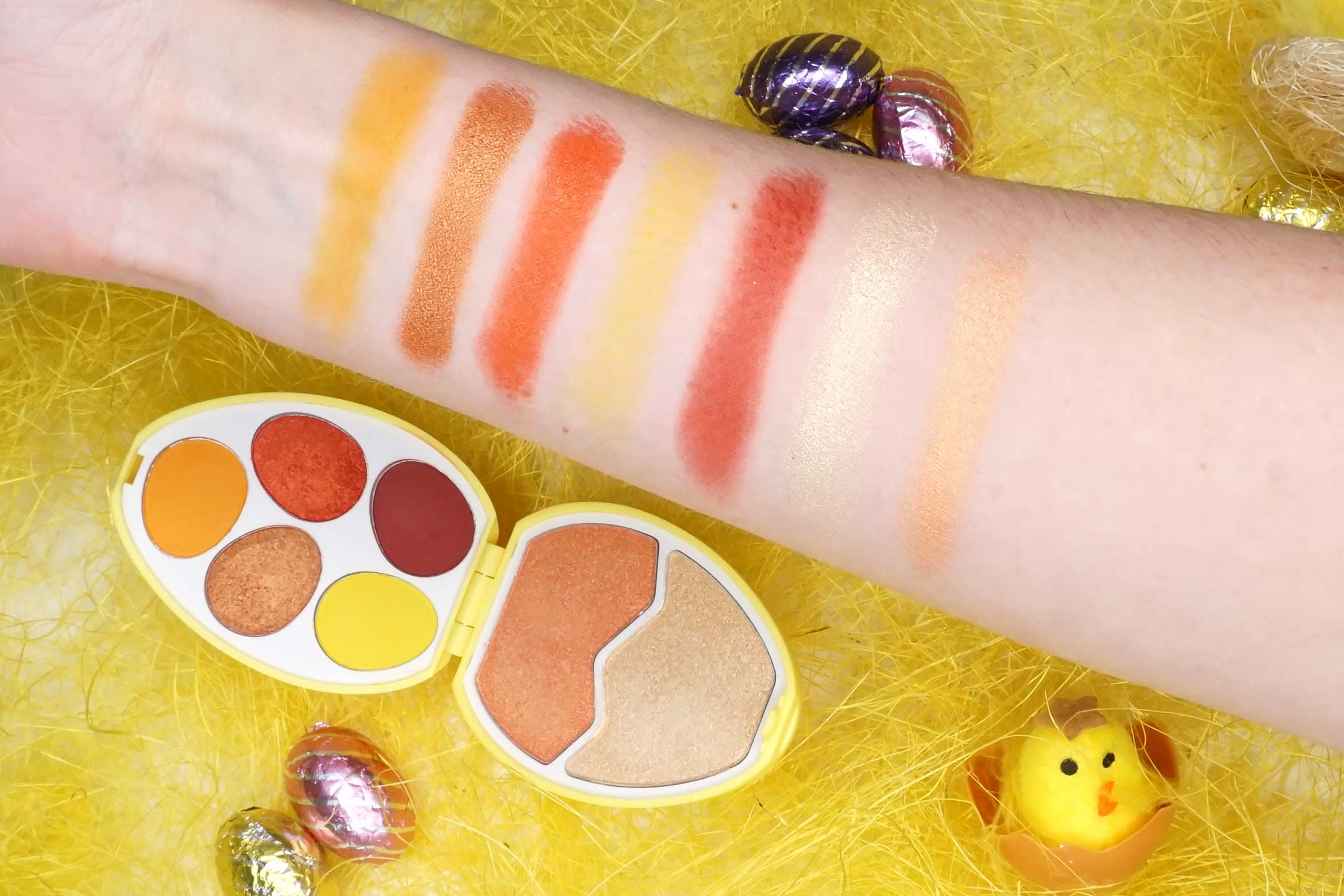 I-heart-revolution-easter-egg-chick-swatches-review