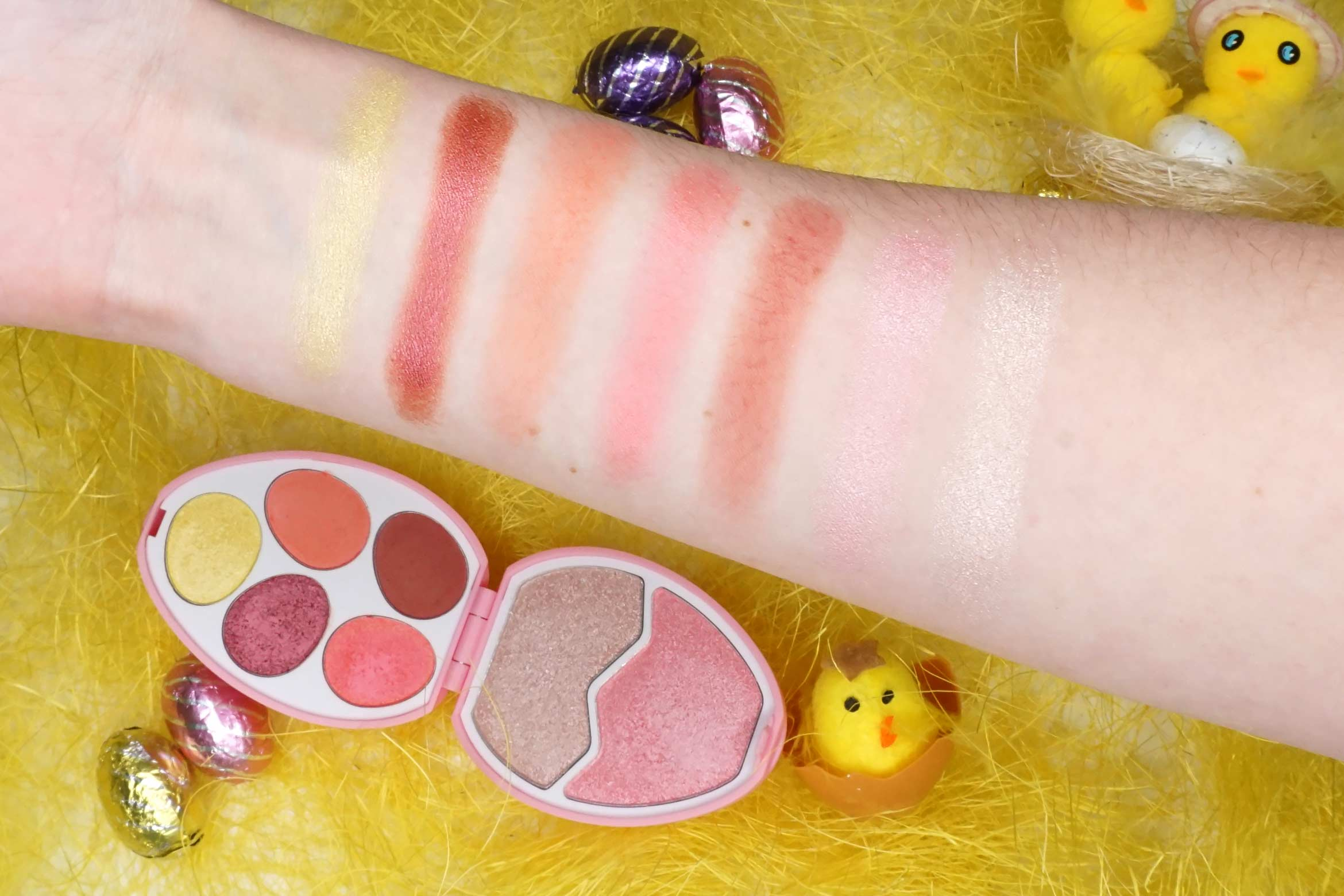 I-heart-revolution-easter-egg-flamingo-swatches-review