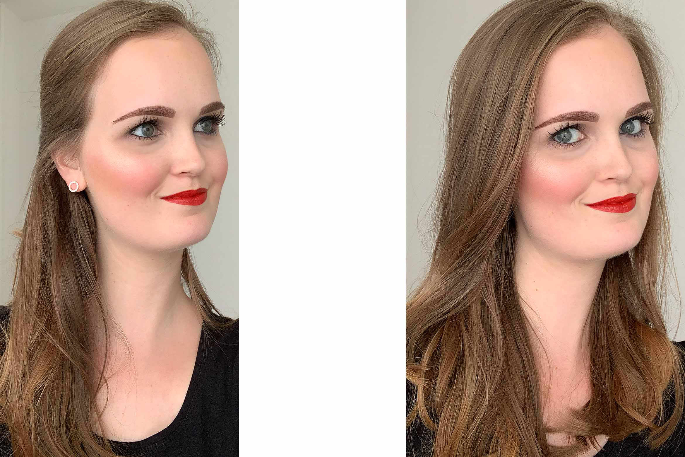 make-up-factory-intense-glow-highlighter-look-1-review