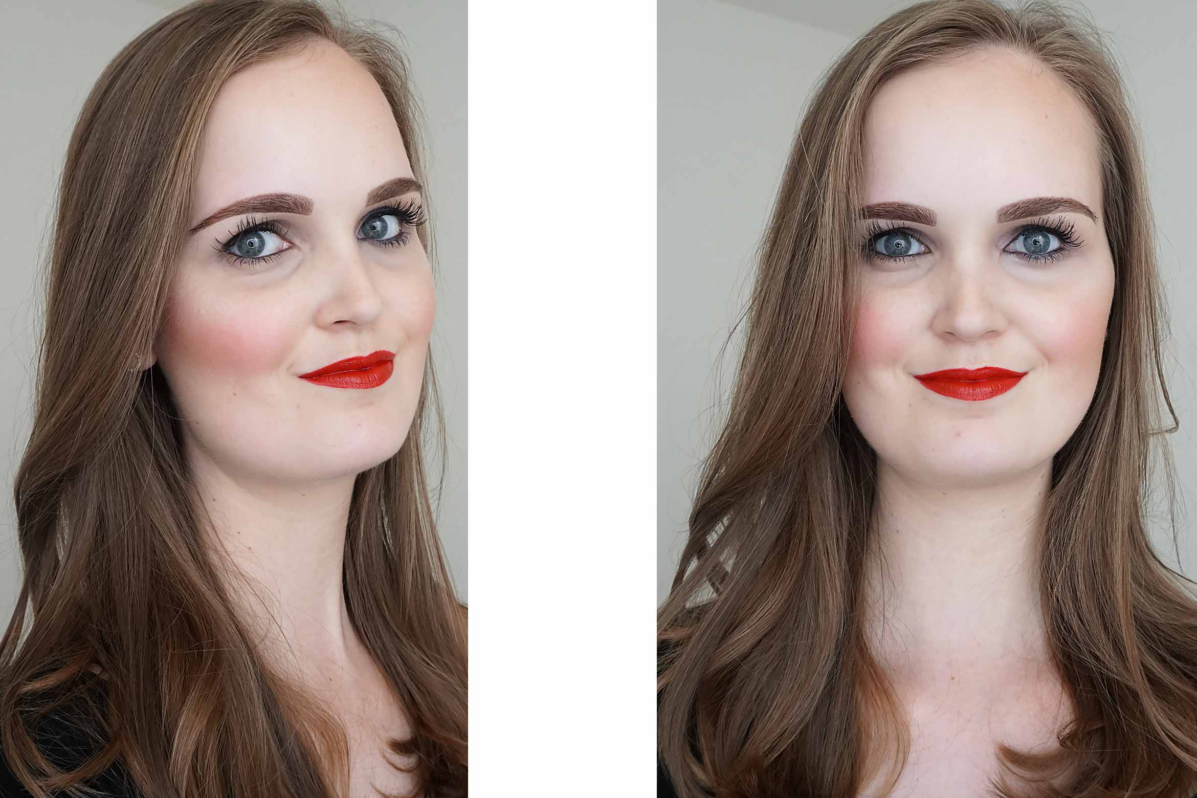 make-up-factory-intense-glow-highlighter-look-review