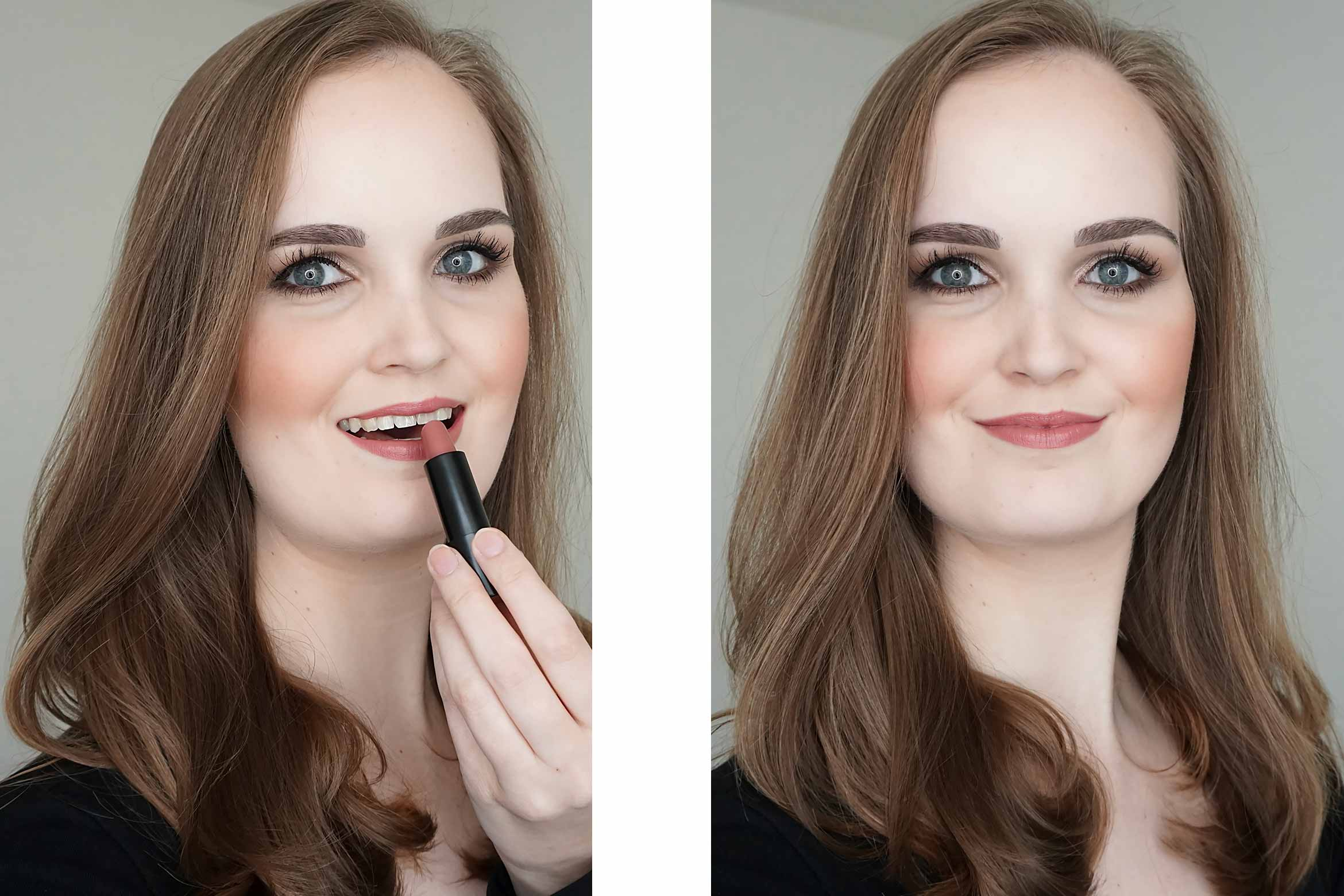 make-up-factory-magnetic-lips-233-soft-dust-review-look