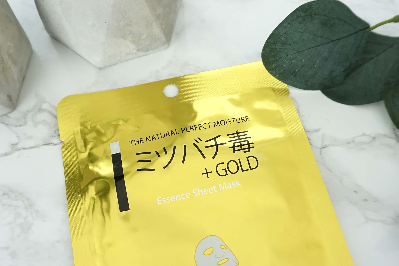 mitomo-gold-bee-venom-sheet-mask-review-2