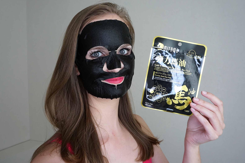 mitomo-gold-horse-oil-sheet-mask-review-4
