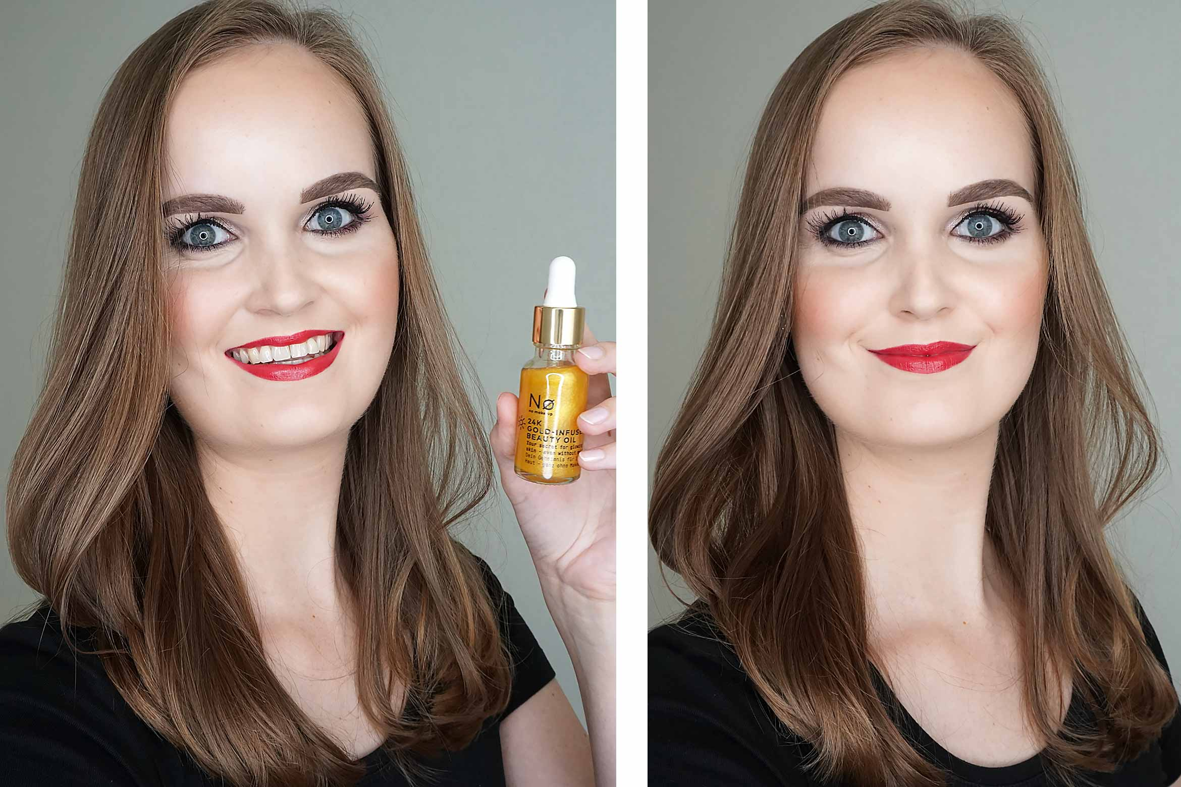 no-make-up-24k-gold-infused-beauty-oil-review-look-1
