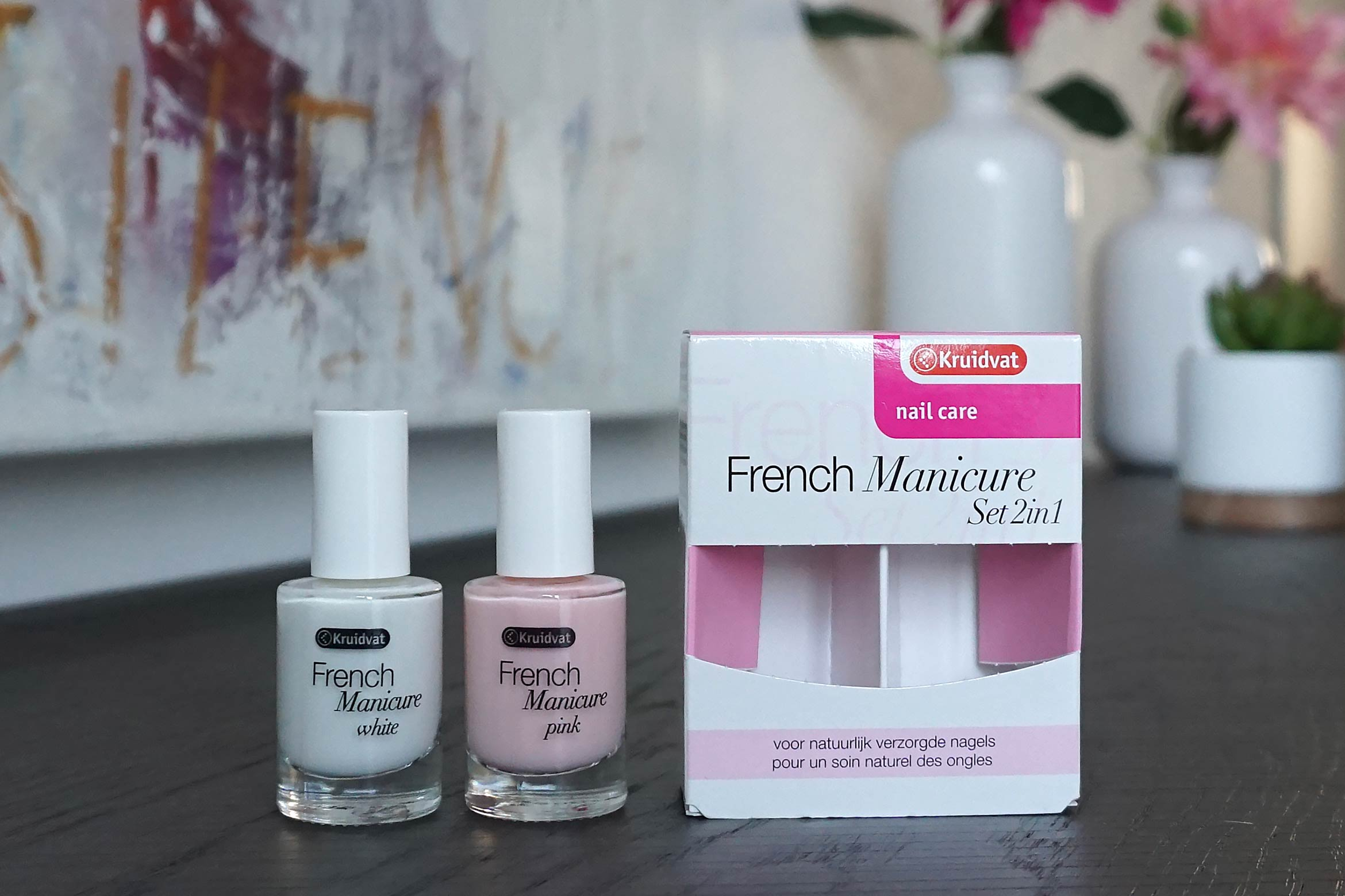 kruidvat-2-in-1-french-manicure-review