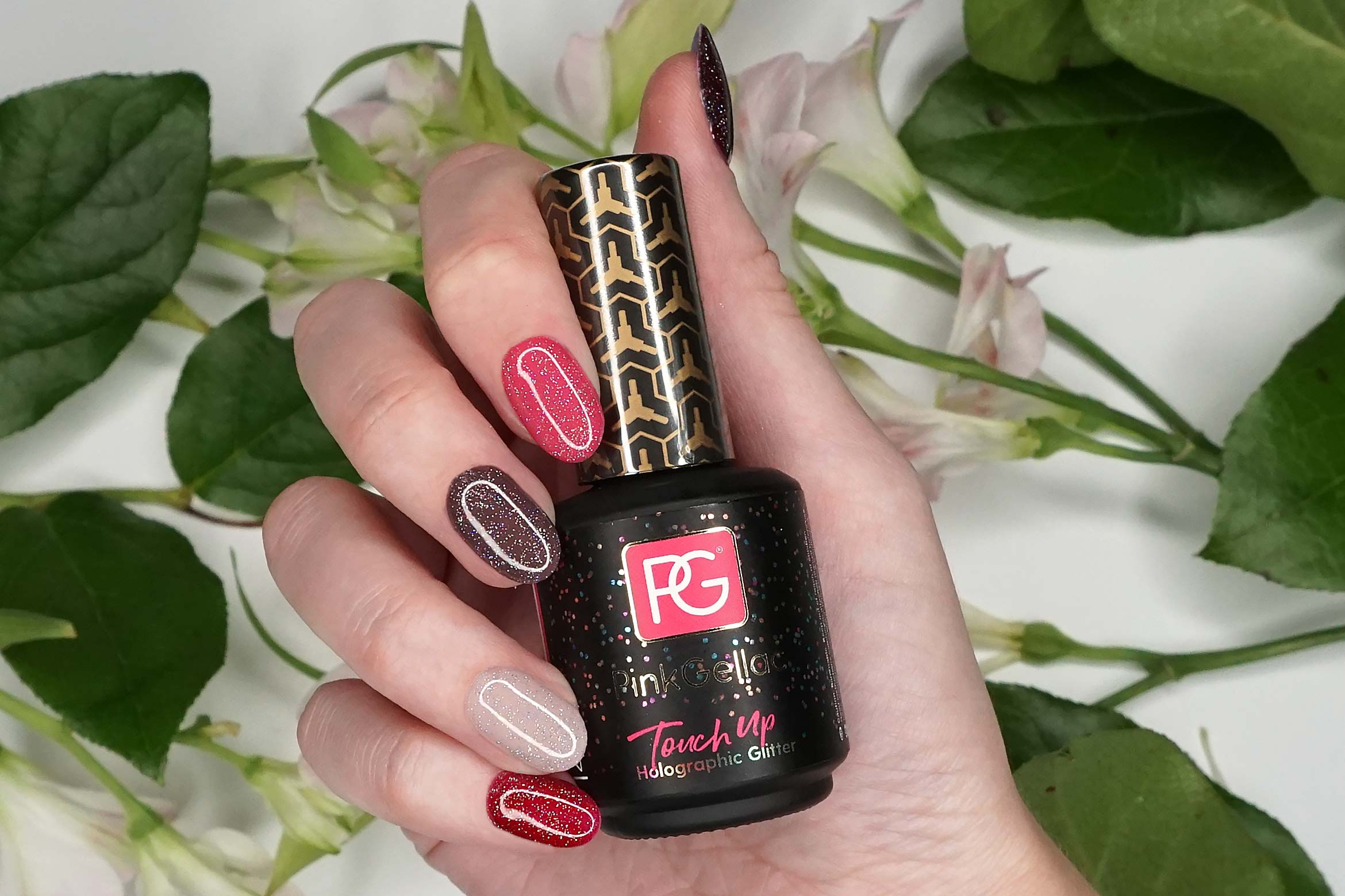 pink-gellac-touch-up-shine-holographic-glitter-swatch-1