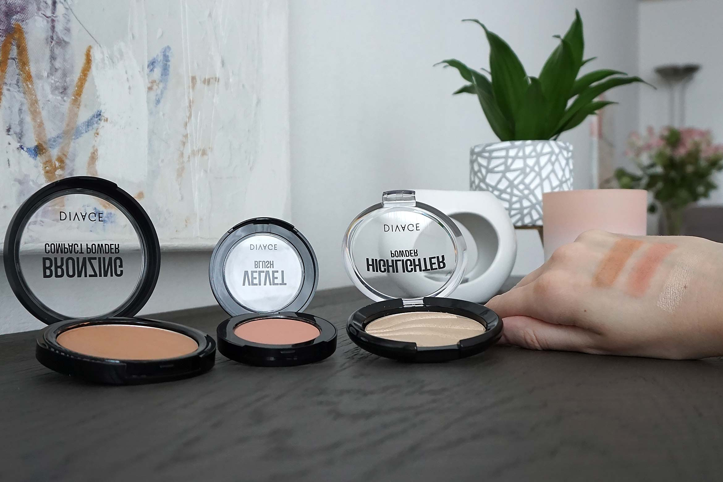 divage blush bronzer highlighter review
