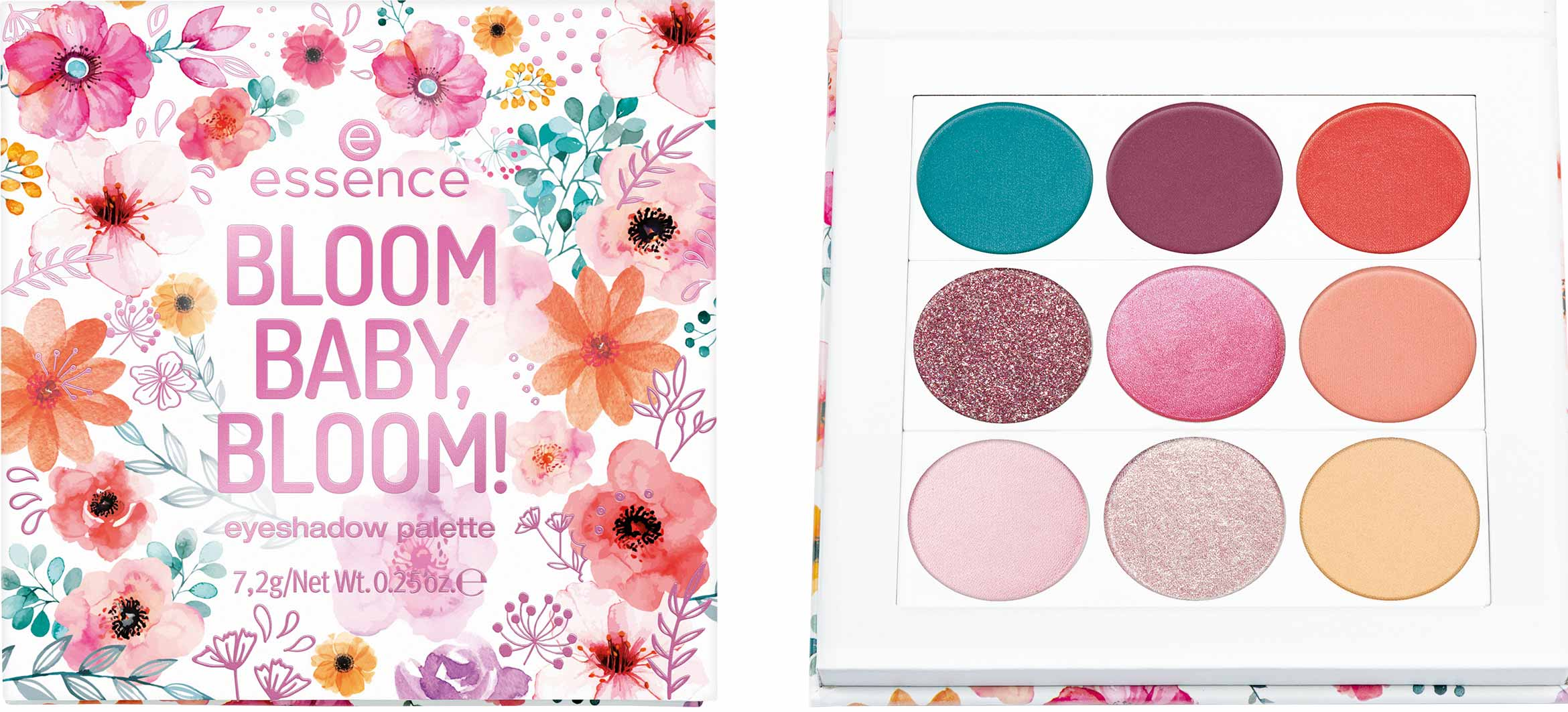 essence bloom baby bloom eyeshadow palette