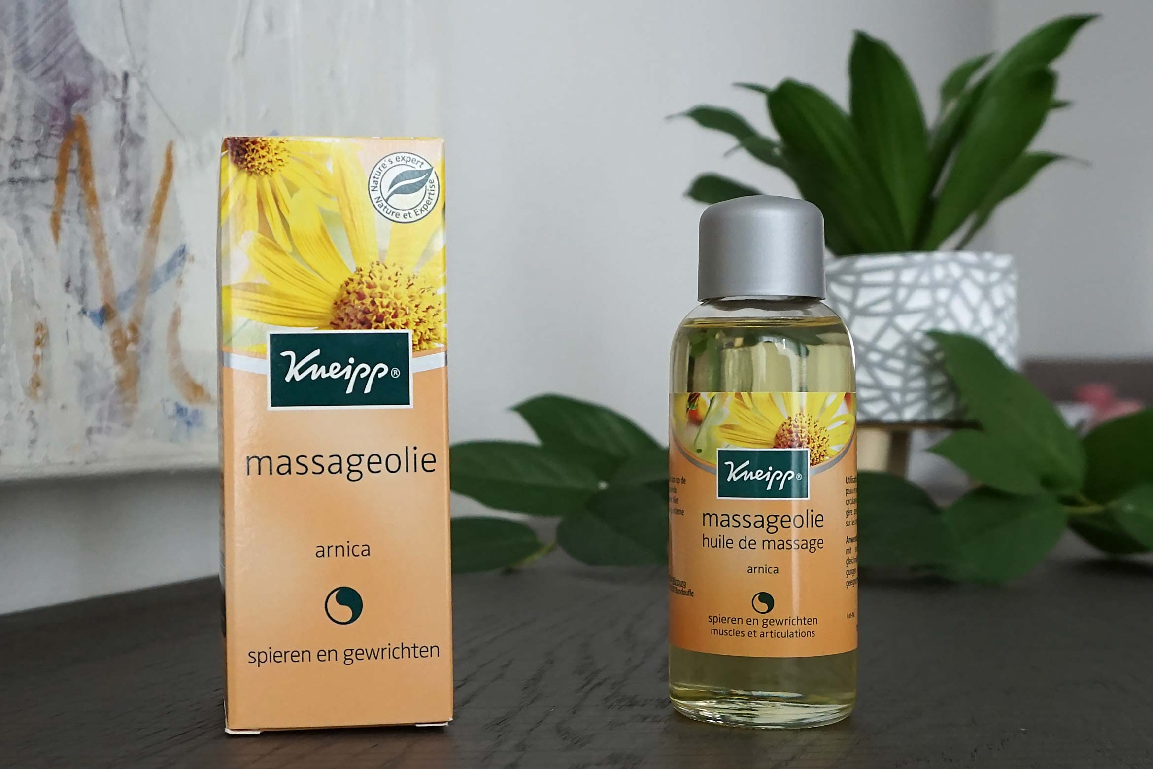 kneipp arnica massageolie review
