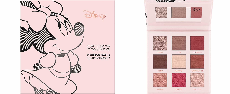 catrice disney eyeshadow palette minnie's signature