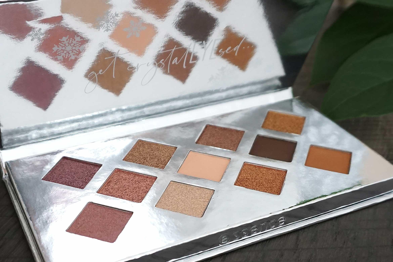 essence crystal dreams eyeshadow palette review