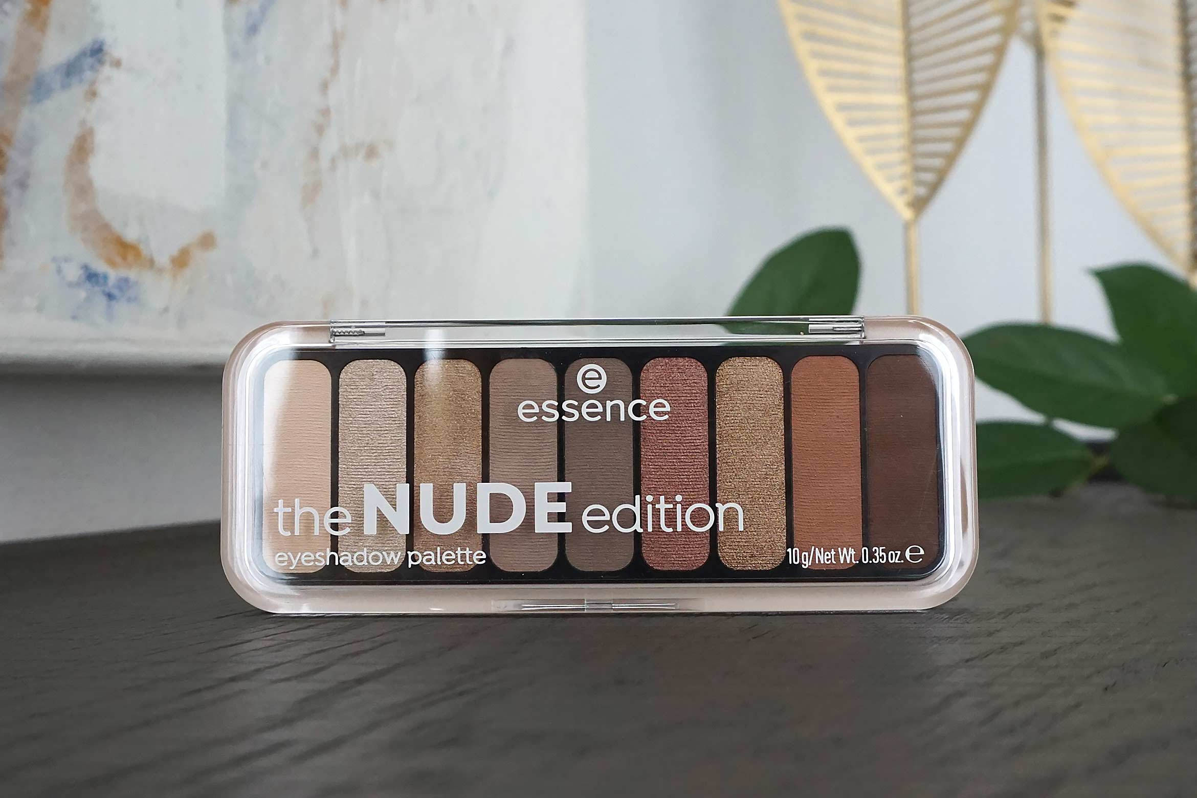essence the nude edition eyeshadow palette review