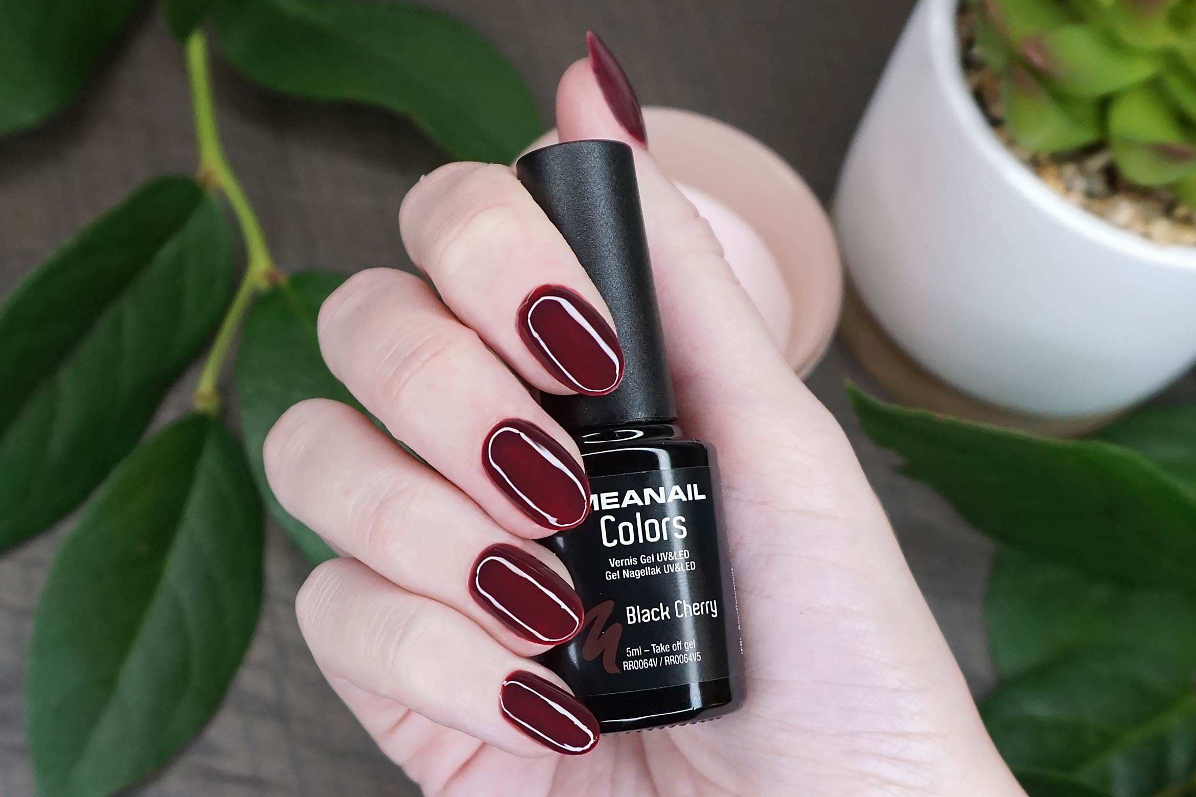 meanail black cherry swatch