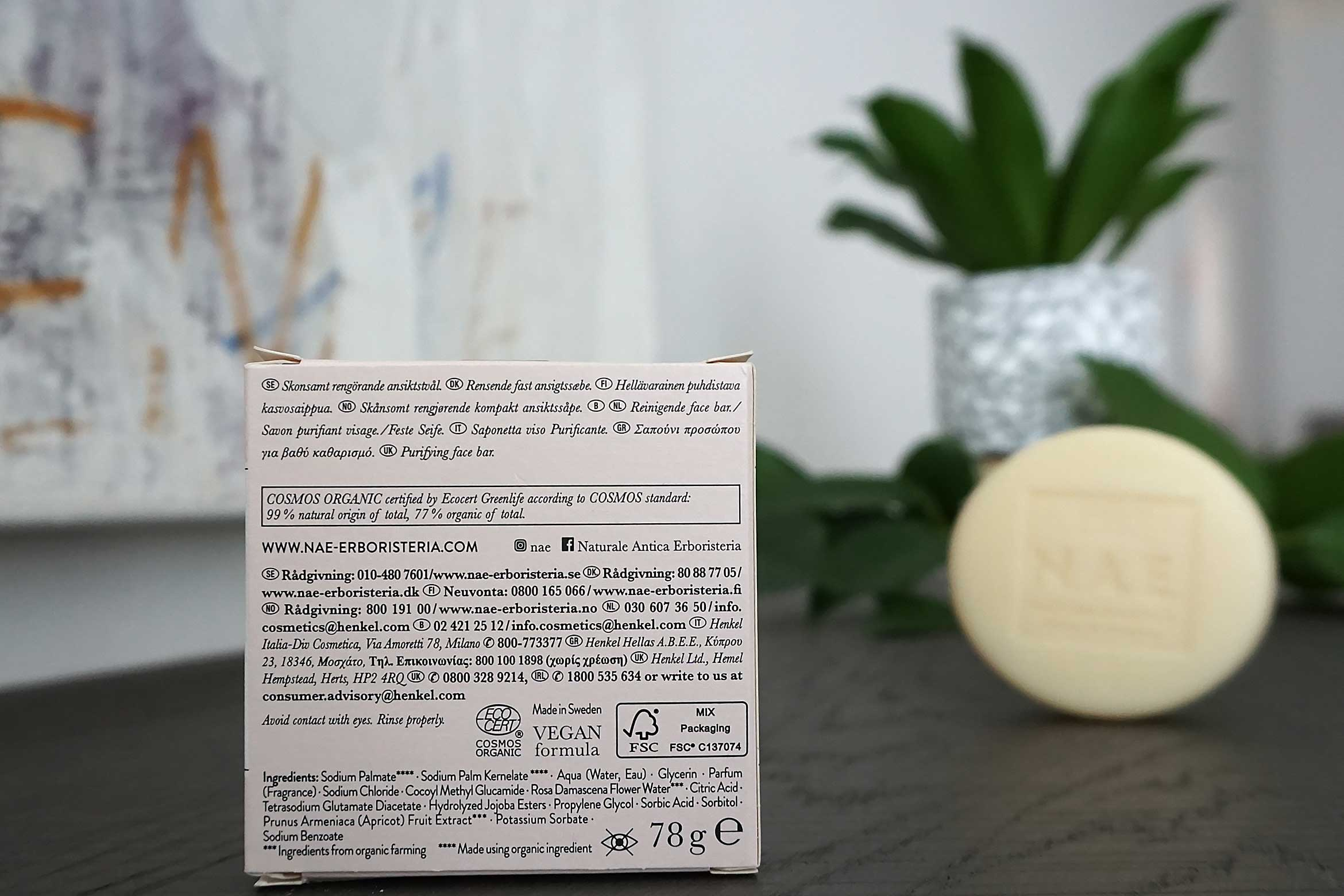 n.a.e. purezza gentle face bar review-2