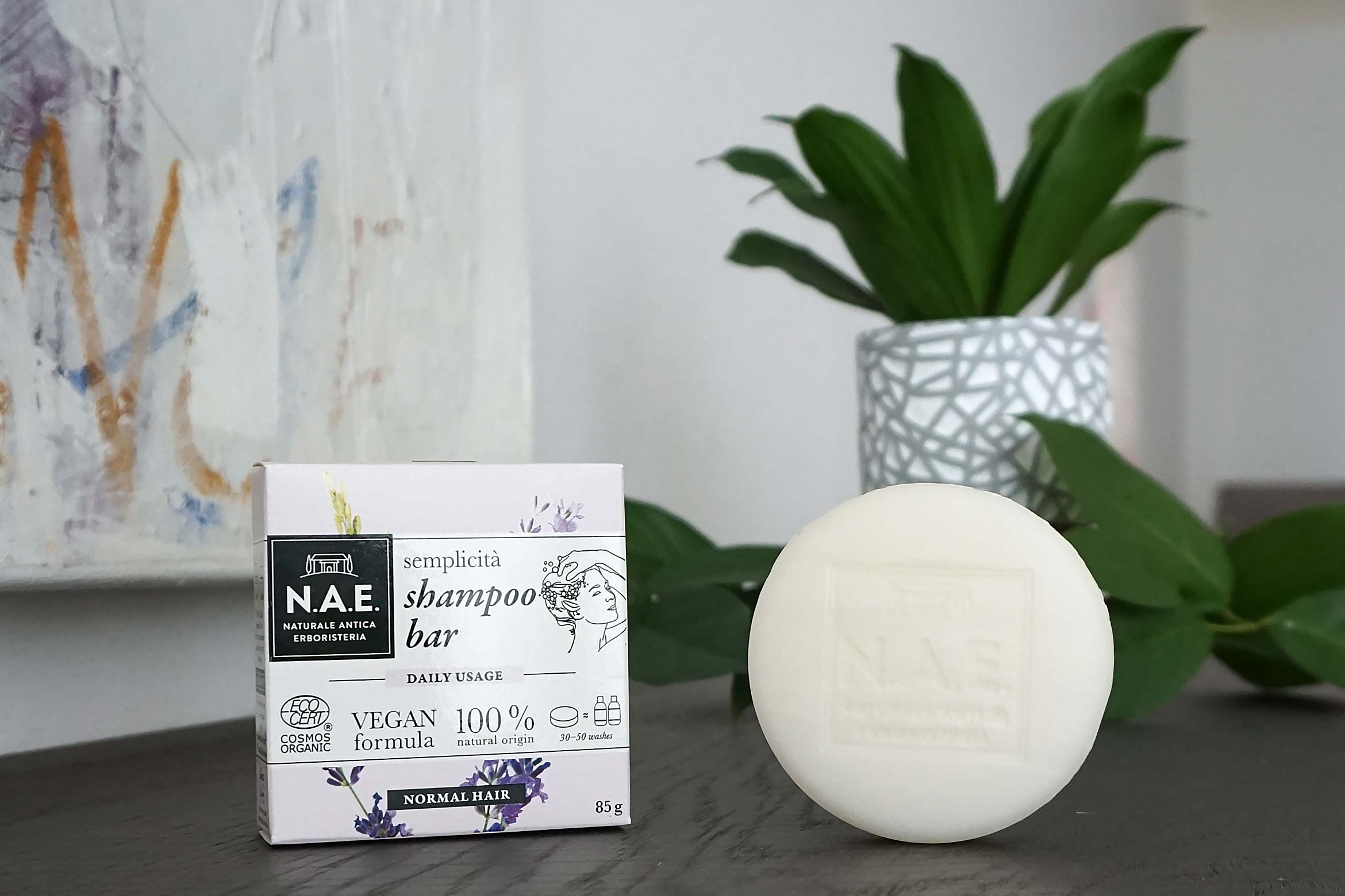 n.a.e. semplicita shampoo bar review