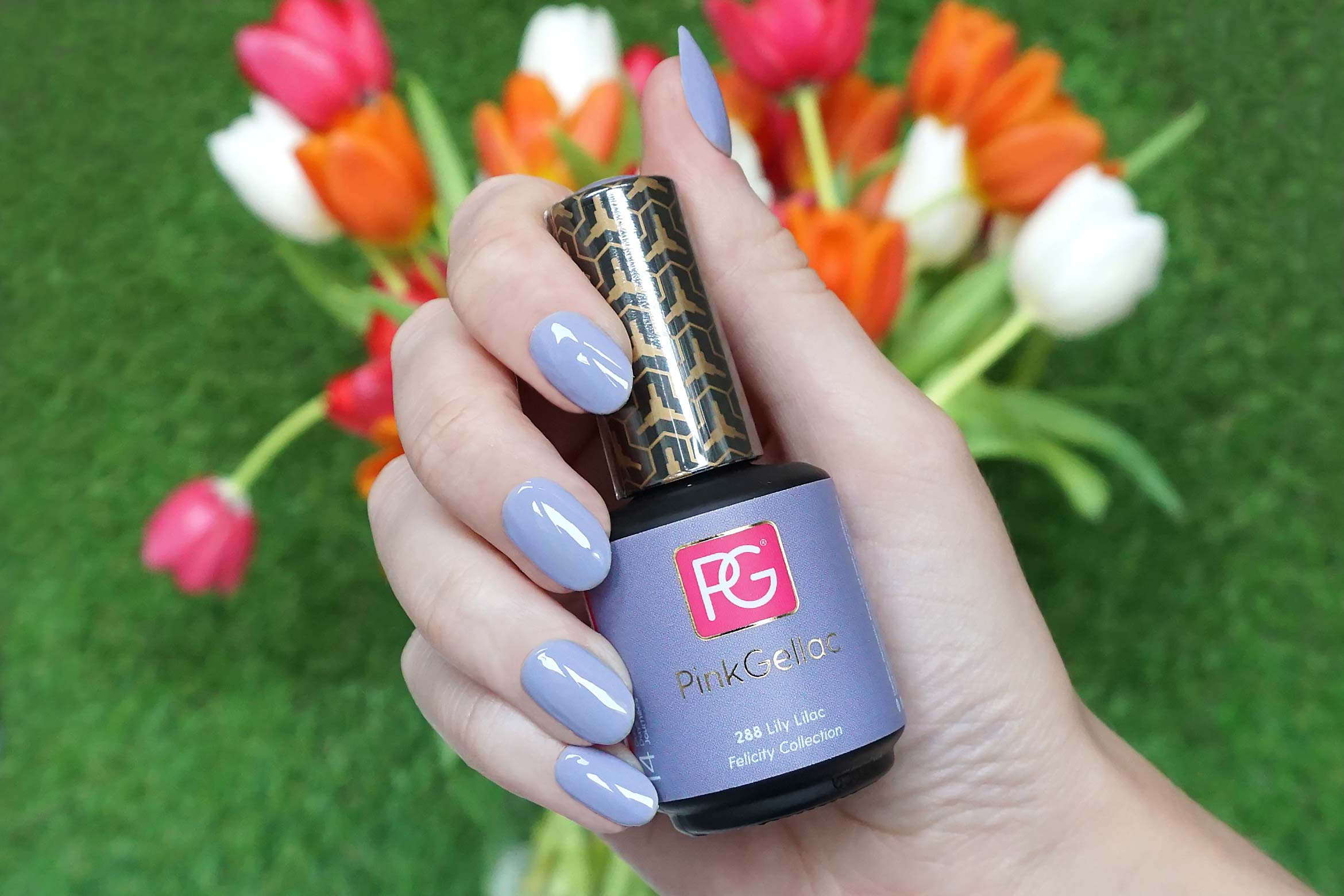 pink gellac 288 lily lilac swatch