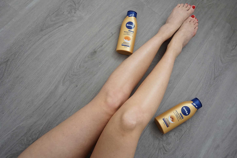 NIVEA Bronze Effect body lotion review-3