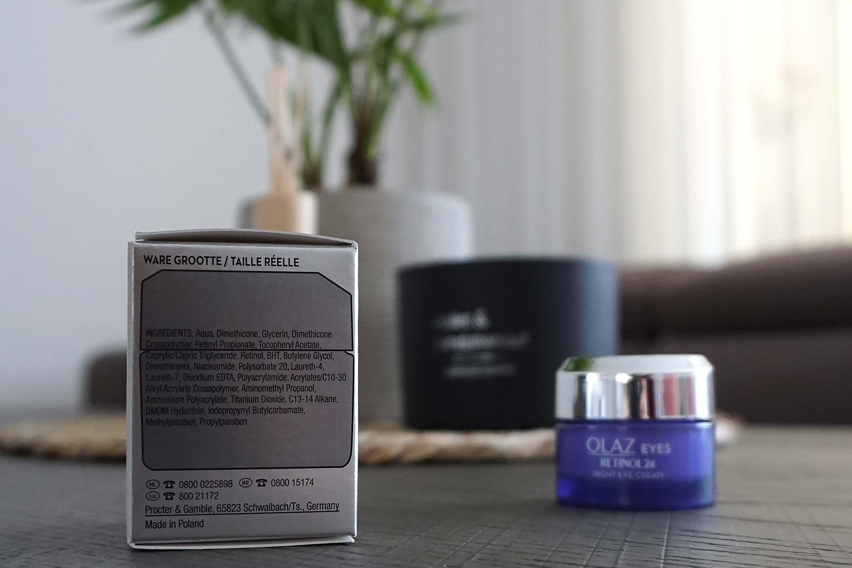 Olaz Regenerist retinol24 nacht oogcreme review