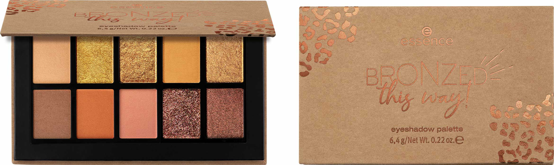 essence bronzed this way eyeshadow palette