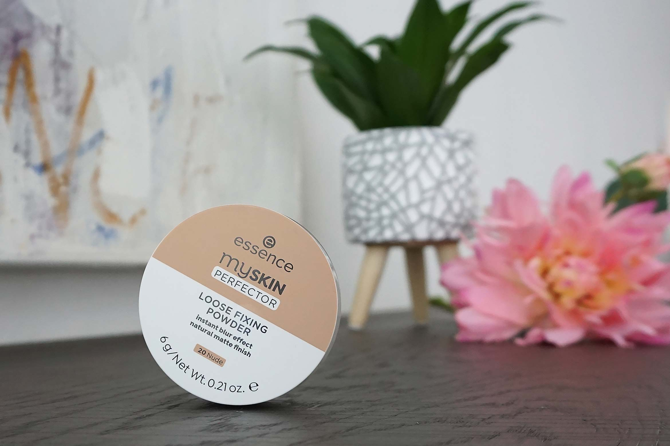 essence my skin perfector loose fixing powder review