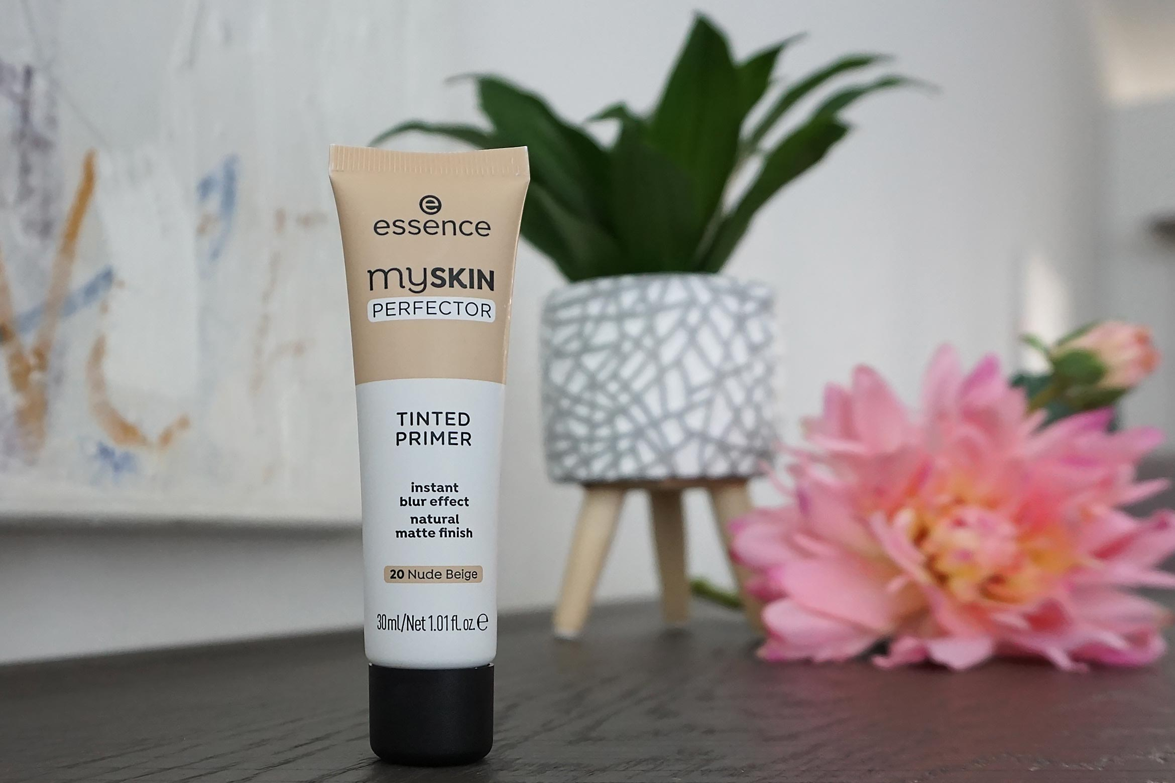 essence my skin perfector tinted primer review