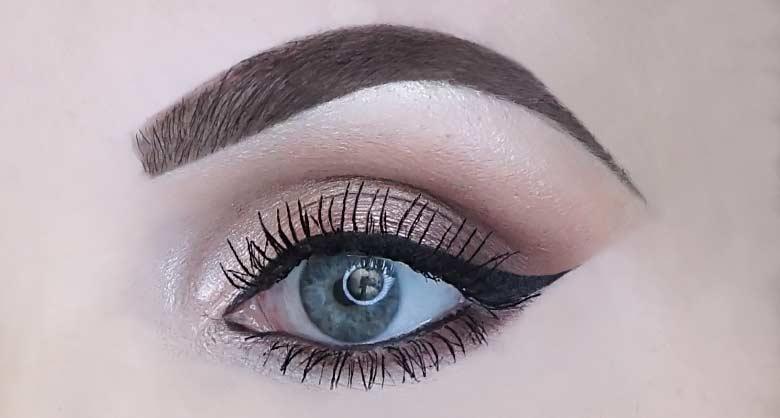 kruidvat infallible flicks glossy eyeliner pen review-look