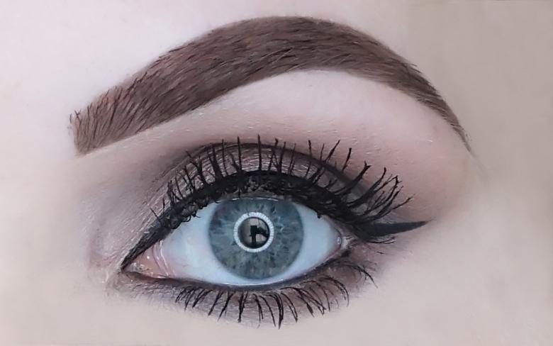 kruidvat lash define skinny mascara review-look-1