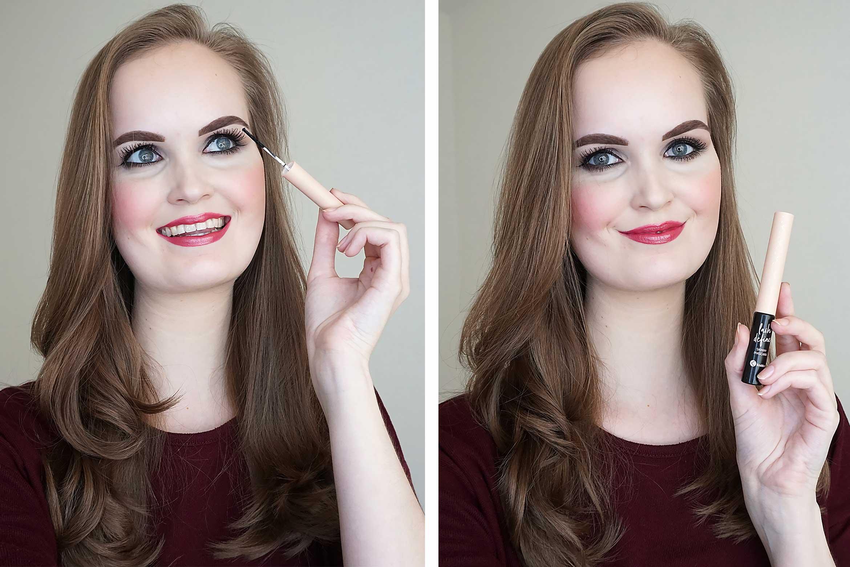 kruidvat lash define skinny mascara review-look-2