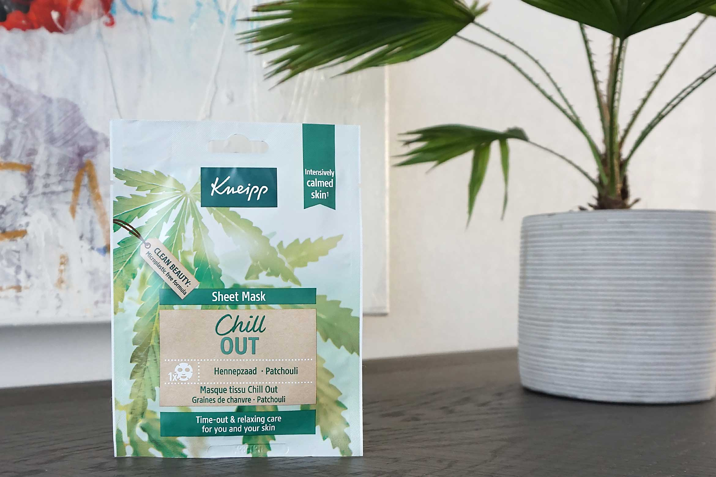 kneipp sheet mask chill out review