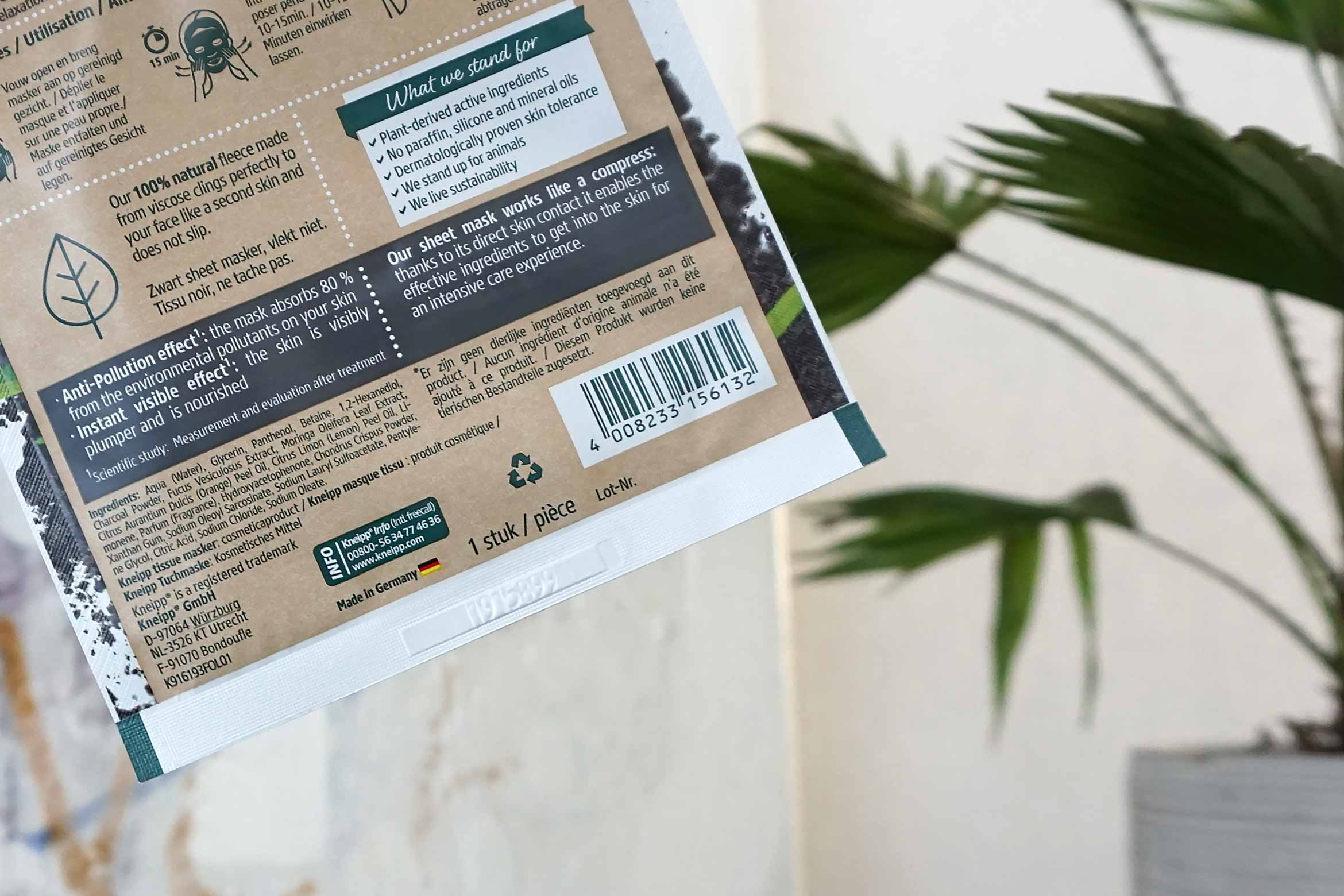kneipp sheet mask detox care review-1